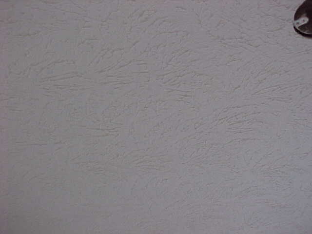 Swirl Patterns and Popcorn Ceilings